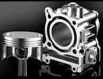 Diasily Cylinder dan Forged Piston