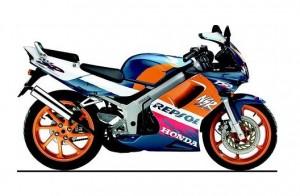 Motor sport terbaik 9 : Honda NSR 150 SP