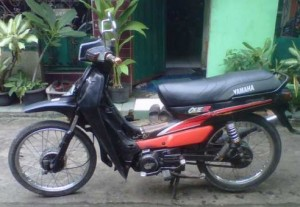 motor klasik yamaha alfa