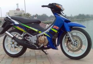 Motor Jadul Suzuki Satria 120