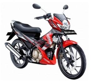 Motor Bebek Terbaik 1 : Suzuki Satria F-150