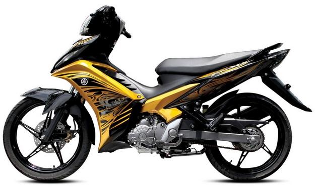 11 Sepeda Motor Bebek Terbaik Di Indonesia