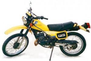 motor klasik Suzuki TS 125
