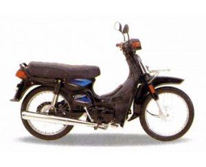 motor suzuki bravo